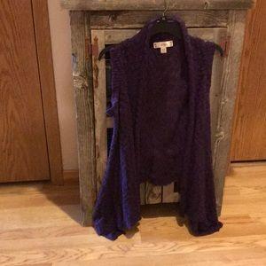 Purple Sweater Vest